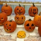 | Halloween töklámpás kiállítás