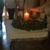 | Advent második gyertyagyújtás